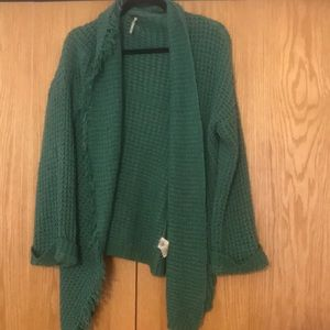 Free people Open front sweater.